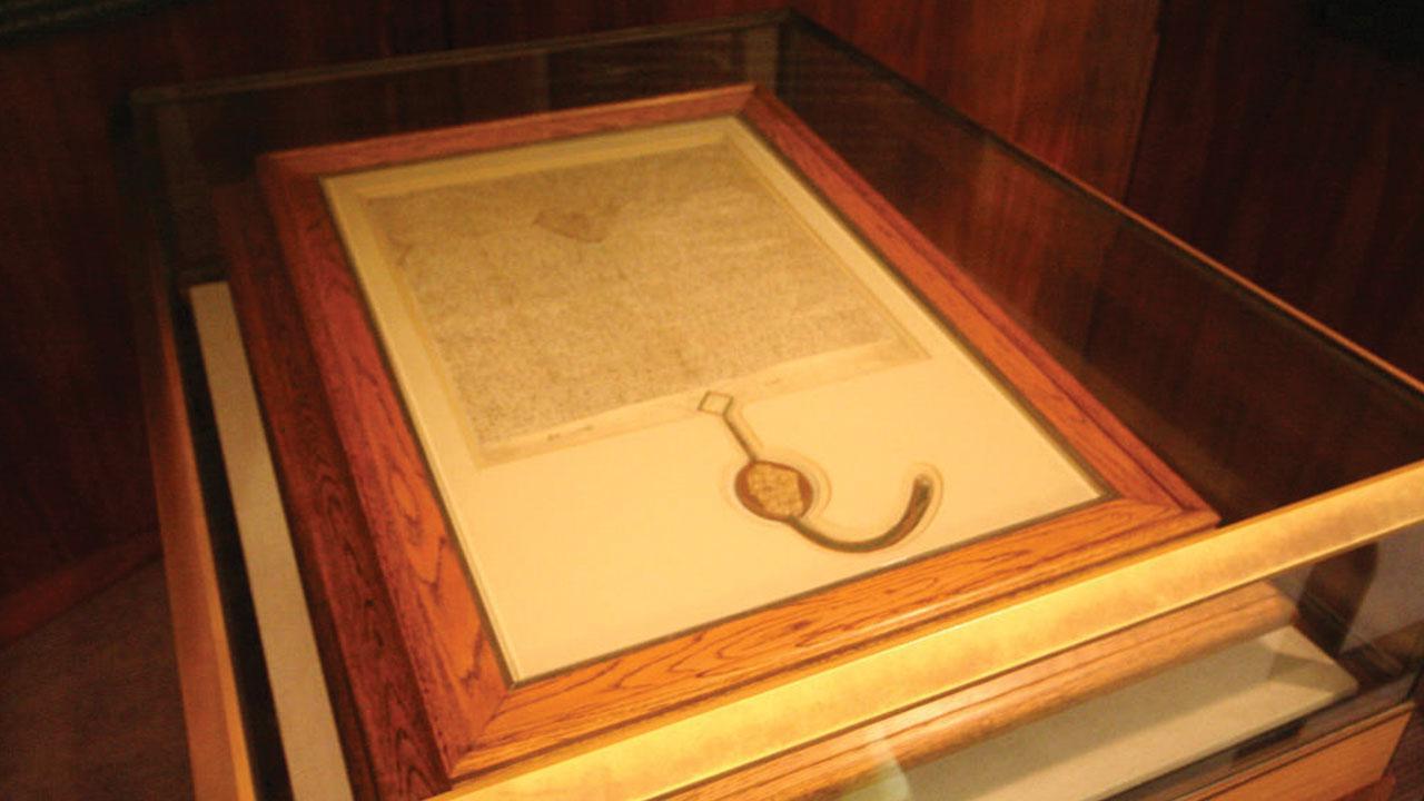 Picture of Australia's Magna Carta