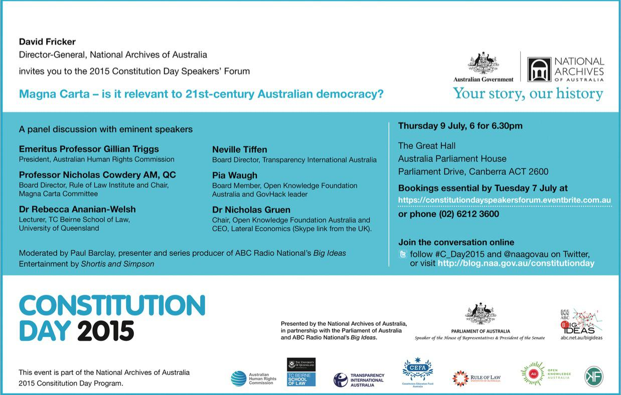 Constitution Day Invitation