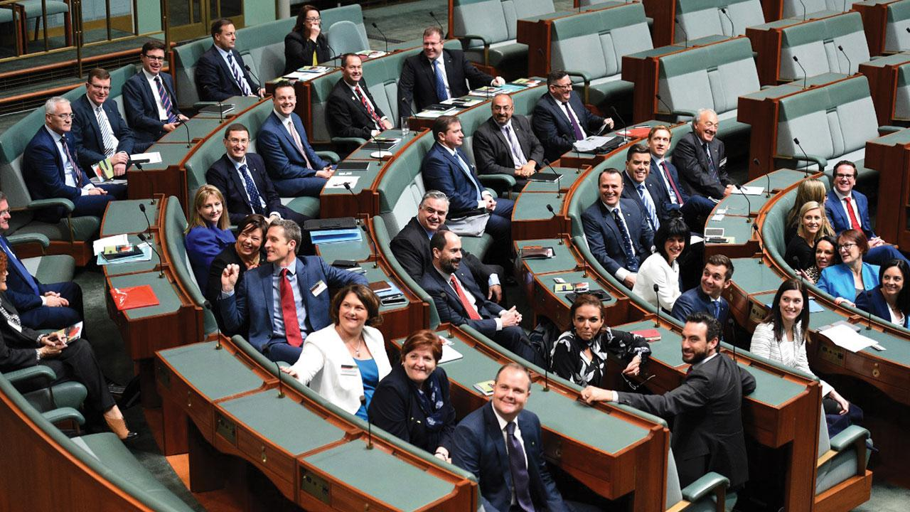 New MP's in the 45th Parliament